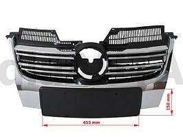 VW Jetta 05-10 решетка между фарами (гриль) маленький номерной знак, арт. DA-7959