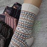 Носки АНГОРА женские. 39-42 р-р. Женские теплые зимние носки , утепленные носки, фото 2