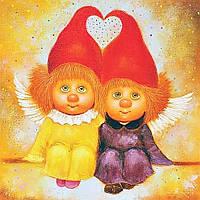 """Набор для рисования картин по номерам """"Ангелы любви"""""""