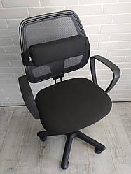 Ортопедична подушка під спину EKKOSEAT для офісного та комп'ютерного крісла