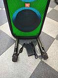 Колонка акумуляторна ZXX partybox c радіомікрофонами (250W/USB/BT/FM), фото 10