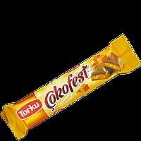 Молочный шоколад Torku Cokofest с карамельной начинкой 35г(уп/24шт)