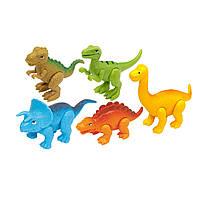 Игровой набор Kiddieland Динозаврики (060749)
