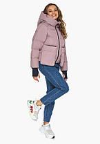 Пуховик женский Youth 26370 | Куртка с карманами женский на зиму, фото 2