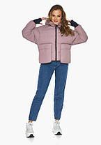 Пуховик женский Youth 26370 | Куртка с карманами женский на зиму, фото 3