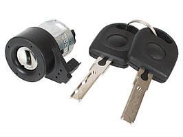 VW New Beetle 98-10 замок зажигания + 2 ключа автомобиля комплектект, арт. DA-18537