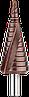 Ступінчасте свердло 4-12мм HSS TIN DIAGER (Франція)