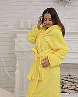 Махровый халат для женщин короткий С, фото 1