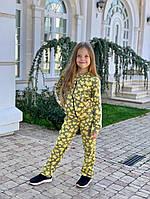 Костюм детский для девочки эффект 3D бабочки 128 -140 см., фото 1