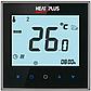 Терморегулятор HEAT PLUS iTeo4 сенсорний тижневий програмований, терморегулятори побутові, 86х86х15мм, фото 2