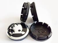Колпачки для оригинальных дисков Skoda