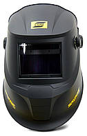 Сварочная маска хамелион  SAVAGE A40 Black со сменной батареей ESAB, фото 4