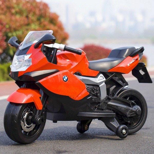 Детский мотоцикл T-7235 EVA BMW Красный