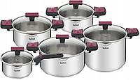 Наборы посуды Tefal Cook&Clip Inox G723SA74, фото 1