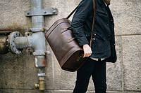 Дорожные сумки из кожзама