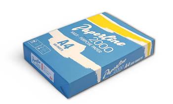 Бумага Paperline 75g/m2, A4, 500л, class A, белизна 160% CIE