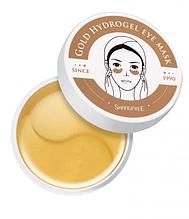 Гидрогелевые патчи под глаза Shangpree Gold Gidrogel eye mask