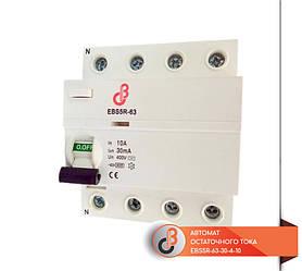 Автомат остаточного тока EBS5R-63-30-4-10