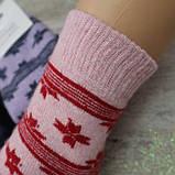 """Носки ШЕРСТЬ женские. 36-40 р-р.""""Kardesler"""" Женские теплые зимние носки , утепленные носки, фото 2"""
