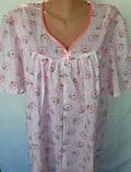 Ночная рубашка с коротким рукавом 64 размер Ромашки, фото 5