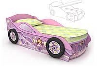 Кровать машинка с ящиком Pn-10-70 mp с ящиком