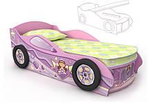 Кровать машинка с ящиком Pn-10-70 mp