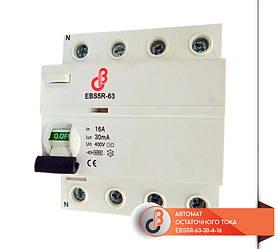 Автомат остаточного тока EBS5R-63-30-4-16