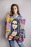 """Интерьерный принт """"Mona Lisa"""", фото 7"""