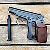 Пистолет пневматический Borner ПМ49 Makarov + 5 CO2 + 400 BB 4.5 мм, фото 5