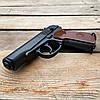 Пистолет пневматический Borner ПМ49 Makarov + 5 CO2 + 400 BB 4.5 мм, фото 4