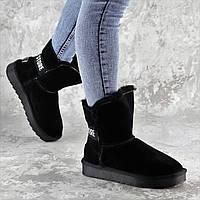 Угги женские Fashion Diogo 2242 36 размер 23 см Черный