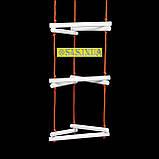 Лестница детская, подвесная, деревянная «ЁЛОЧКА. ЭЛИТ», белая, фото 3