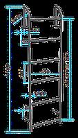 Стальная канализационная лестница