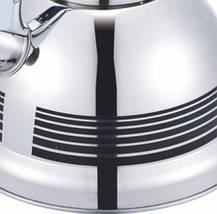 Чайник со свистком из нержавеющей стали Benson BN-711 (3 л) нейлоновая ручка, фото 2