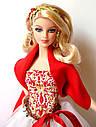 Кукла Барби Коллекционная Праздничная 2010 Barbie Collector Holiday R4545, фото 3