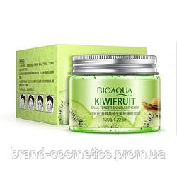 Маска-гелевая BIOAQUA Kiwifruit Snail Tender Skin Sleep Mask ночная с киви и муцином улитки 120 гр