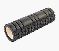 Массажер рулон Массажный валик для тела Zelart Grid Combi Roller 14*45 cм 007 1843-2 чёрный