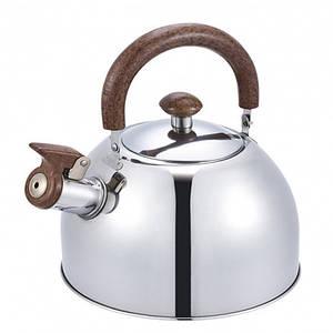 Чайник зі свистком з нержавіючої сталі Benson BN-712 (2.5 л) бакелітова ручка