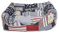 Диван для животного Nautica, синий/белый/красный, 70х60см Любимое место для Вашего питомца