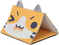 Домик для животного CROCI Pyramide Catmania, 45x45x33см *