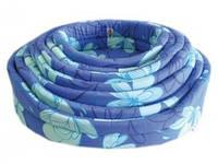 Набор лежанок для животного Sogno, синий, 4 размера (40-45-50-55 cm) цена за 4шт