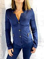 Піджак жіночий okSana синій 42