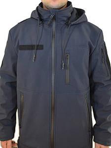 Куртка софтшелл синяя (ДСНС, Поліція)