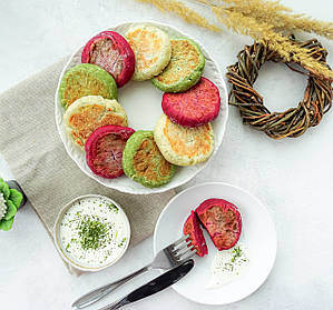Сирники та порошки сублімованих овочів і зелені