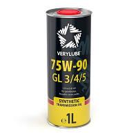 Масло Verylube 75W-90 GL 3/4/5 1L (трансмиссионное синтетическое масло)