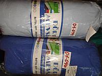 Трикотажная простынь на резинке Хлопок Турция 200*200*25 Евро размер синий