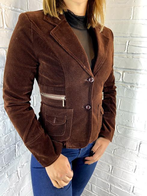 Пиджак женский 6303 шоколадный S