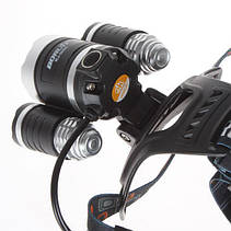 Налoбный фонарь Boruit RJ-3000, фото 3