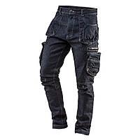 Рабочие брюки 5 карманов DENIM размер S NEO TOOLS 81-229-S, фото 1