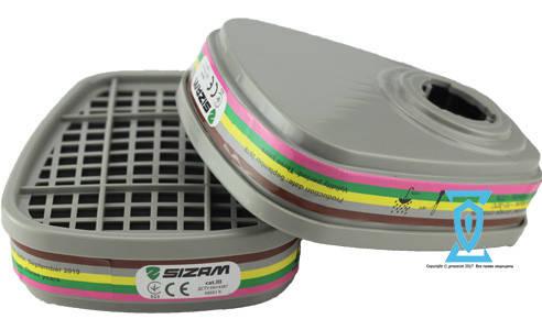 """Фільтр """"Sizam"""" PROMASK 6059 АВЕК1 (сертифікат), фото 2"""